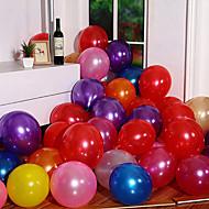 latex helium inflable fortykkelse perle bryllup eller bursdagsfest ballong, 100stk / mye