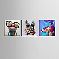Mini Size E-HOME Oil painting Modern Fashion Animal Pure Hand Draw Frameless Decorative Painting
