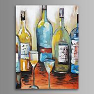Vida Imóvel / Lazer / Comida e Bebida Impressão em tela Um Painel Pronto para pendurar,Vertical