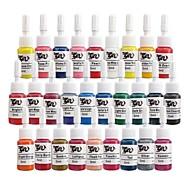 basekey tetování nebo make-up inkoustových barev 28 x 5 ml