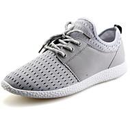 Men's Shoes Casual Leatherette Fashion Sneakers Black / Blue / Gray