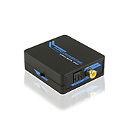 2-way Digital SPDIF (Coaxial/ Toslink) Audio Converter Support 2.1/5.1CH with CE FCC RoSH Certificates