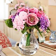 משי חינניות / ורדים פרחים מלאכותיים