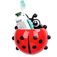 Kalíšek na zubní kartáček Záchod / Vana / Sprcha Plast Multifunkční / Travel / Skladování