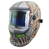 Schädel Schweißen accessoriees Solar Li-Batterie automatische Verdunkelung tig mig mma Schweißmaske / Helme / cap / Goggle / Augen Maske