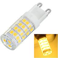 6W G9 LED Bi-pin světla Zápustná 51 SMD 2835 400-500 lm Teplá bílá / Chladná bílá Ozdobné AC 220-240 V 1 ks