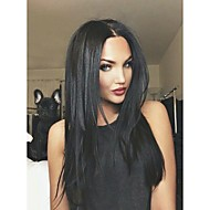 Afordable 8A Glueless or Full Lace Wigs in Natural Light Yaki Brazilian Virgin Remy Human Hair Wigs For Women