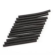 Neitsi® Set of 12 Professional Hair Extensions Keratin Gun Bond Glue Sticks (Black)