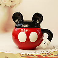 1PC 300 Ml Cute Cartoon Cartoon Ceramic Creative Cup
