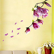 Floral Paysage Stickers muraux Autocollants avion Autocollants muraux décoratifs Matériel Amovible Décoration d'intérieur Calque Mural
