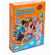 Puzzle fliegen Schachspiel Teppichmatte kriechen Kind Kinder Teppich Eltern zwei spielen
