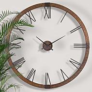 E-HOME® Metal Wall Art Wall Decor,Simple Pattern Metal  Wall Clock One PCS