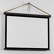 50-Zoll-16: 9 einfaches tragen Mini mikroportable matt weiß Tischprojektion Leinwand