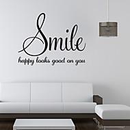 Parole e citazioni Adesivi murali Adesivi aereo da parete,vinyl 58*45cm