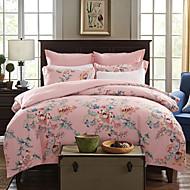 Floral Polyester 4 Piece Duvet Cover Sets