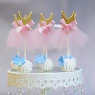 Figurine(Rosa,Kartonpapier) -Nicht-personalisierte-Hochzeit / Jubliläum / Geburtstag