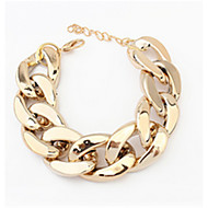 MOGE New Fashion Vintage / Cute / Party / Casual Alloy / Resin / Lmitation Pearls / Porcelain  Bracelet