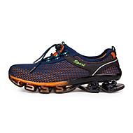 MasculinoConforto / Tira no Tornozelo-Rasteiro-Azul / Roxo-Tule / Microfibra-Ar-Livre / Casual / Para Esporte