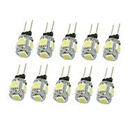 1.5W G4 LED bodovky T 5 SMD 5050 90-120 lm Teplá bílá / Chladná bílá / Přirozená bílá / Modrá / Žlutá / Zelená / Červená Ozdobné DC 12 V