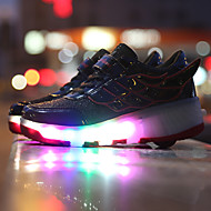 LED Shoes Boys' Shoes Casual Leather Fashion Sneakers Pink / Black and Red / Black and White