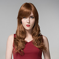 Simplicity Premium Quality Full Length Long Wavy Remy Hand Tied-Top Capless  Hair Woman's Wig
