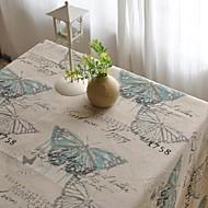 borboleta modelada tabela de moda pano hotsale lençóis de algodão de alta qualidade mesa de café quadrada toalha de capa de pano