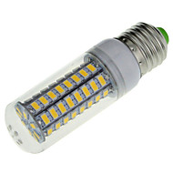 1 pcs E14 / E26/E27 18 W 72 SMD 5730 1650 LM Warm White / Cool White LED Corn Bulbs AC 220-240 V