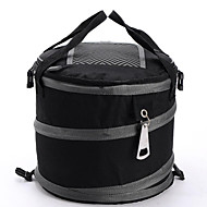 Large Capacity Soft Cooler Tote Insulated Lunch Bag Green Stripe Outdoor Picnic Bag Insulated Collapsible Cooler