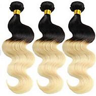 Âmbar Cabelo Brasileiro Onda de Corpo tece cabelo