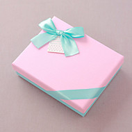 비 개인화-기념일 / 브라이덜 샤워 / 베이비 샤워 / 성인식 & 스윗 16 / 생일 / 웨딩-클래식 테마-기프트 박스(다크 네이비 / 핑크 / 레드,카드 종이)