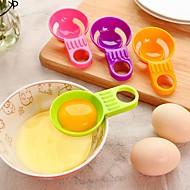mini æggehvide æggeblomme separator praktisk æg vitellus hvid divider køkkenredskaber madlavning tilfældig farve