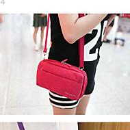 Capanga Portátil Organizadores para Viagem para Feminino Portátil Organizadores para Viagem Tecido-Laranja Azul Escuro Roxo Rosa Cinza