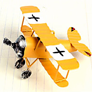 Retro Biplane Model Decorative Furnishing Articles-Random Color