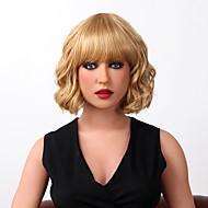 キャップレスの超ショートボディ波は、9色を選択するには、人間の髪の毛のかつらを強調します