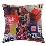 Polyester Pillow With Insert,Novelty Modern/Contemporary 18x18 inch