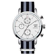 SINOBI® Classic Oxford Men's Casual Watch Brand Males Quartz Watch Designer Nylon Clock 2016 Hombre Relojes Wrist Watch Cool Watch Unique Watch