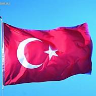 Turkey National Flag Turkish Flag 90 X 150cm (Without flagpole)