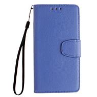 Huawei社Y530 / Y5 / Y560 /メイト7 / P8 / p8liteのために開いたままにエンボス加工革財布