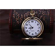 Unisex Pocket Watch Lucky Retro Flip Pocket Watch Cool Watches Unique Watches