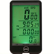 Vejcykel / MTB / BMX / Fixed Gear Bike / Rekreativ Cykling / Mountain Bike Bike UreOdo - Odometer / SPD - Aktuelle Hastighed / Sæt (km /