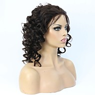 Brazilian Virgin Curly  Hair Glueless Lace Front Wig/Full Lace wig With Baby Hair For Black Women