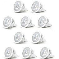 3W GU5.3(MR16) Spot LED MR16 3 LED Haute Puissance 350 lm Blanc Chaud / Blanc Froid Décorative DC 12 V 10 pièces