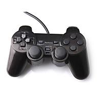 Dual-Shock PS2-ohjain (musta)