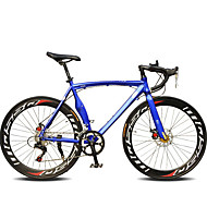 Racercykler Cykling 14 Trin 60mm Unisex Voksen SHIMANO TX30 Dobbelt skivebremse Normal Monocoque Normal Aluminiumslegering Stål