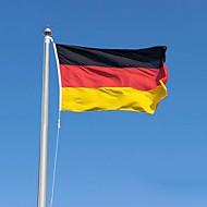 2016 tyskland flagg polyester flagg 5 * 3 ft 150 * 90 cm høy kvalitet billig pris i-kind skyting (ingen flaggstang)
