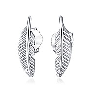 Shinning Real 925 Silver Small Leaf Stud Earrings 2016 New Statement Wedding Gifts Plant Jewelry Korean Fashion