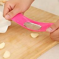 Küche Knoblauchpresse Knoblauch Brecher chopper Haushalte Gemüseschneider Kochen Werkzeuge Zufalls Süßigkeiten Farbe
