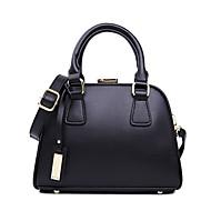 HOWRU ® Women 's PU Tote Bag/Single Shoulder Bag/Crossbody Bags-Black/White/Gold
