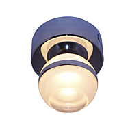 5W צמודי תקרה ,  מודרני / חדיש כרום מאפיין for LED מתכת חדר שינה / חדר אוכל / חדר עבודה / משרד