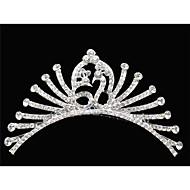 여성 라인석 / 크리스탈 / 합금 투구-웨딩 / 특별한날 왕관 1개